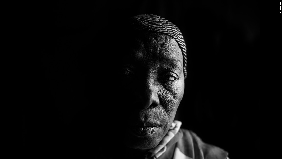 Tani Bitrus was detained alongside 50 other women in Gwoza. Her husband was executed by Boko Haram.