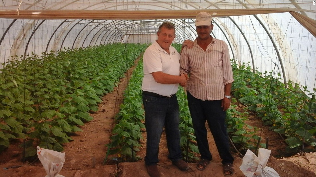 A 20-hectare facility in Jordan will be inaugurated this year, with embryonic plans for a 4000-hectare facility that could generate 170,000 tons of produce each year.