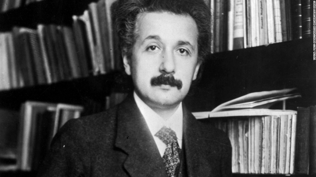 "Einstein, seen here in 1905, developed the general <a href=""http://www.cnn.com/2015/11/11/opinions/gallery/einstein-theory-of-relativity/index.html"" target=""_blank"">theory of relativity,</a> which fundamentally changed our understanding of the universe. He also won the Nobel Prize in physics in 1921."
