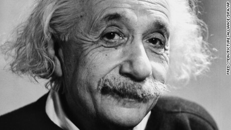 Albert Einstein in 1946. Portrait by photographer Fred Stein (1909-1967) who emigrated 1933 from Nazi Germany to France and finally to the USA. Photo by: Fred Stein/picture-alliance/dpa/AP Images