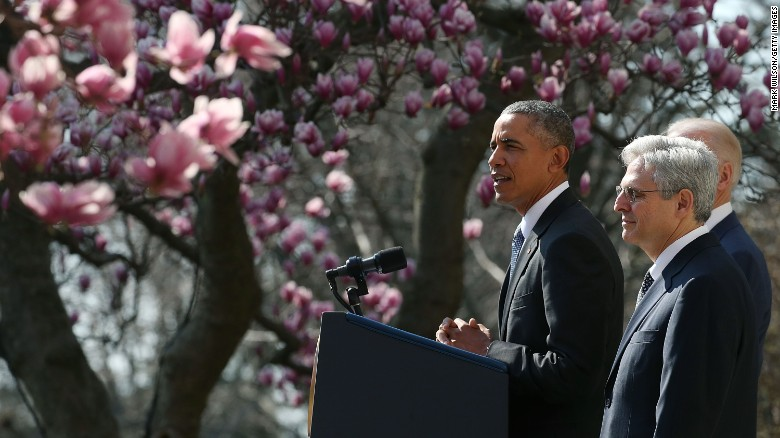Obama nominates Merrick Garland to replace Scalia