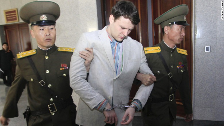 North Korea sentences U.S. student to 15 years hard labor