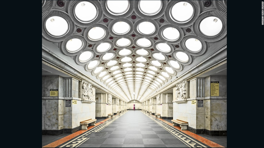 The Moscow Metro, which opened in 1935, was conceived by Joseph Stalin as part of his first Five-Year Plan to rapidly industrialize the Soviet Union.
