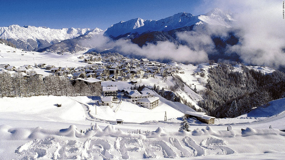 Serfaus is an amiable spot sitting on a sunny shelf it shares with sister resorts Fiss and Ladis above the Inn valley in the Tyrol region of Austria.