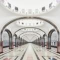 moscow metro stations david burdeny mayakovskaya