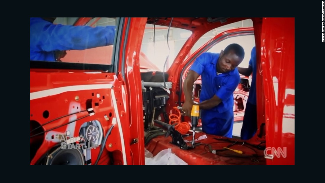 Kantanka said it now makes 150 cars every month from its headquarters in central Ghana.