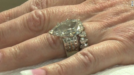 12-carat diamond ring lost in 8 tons of trash