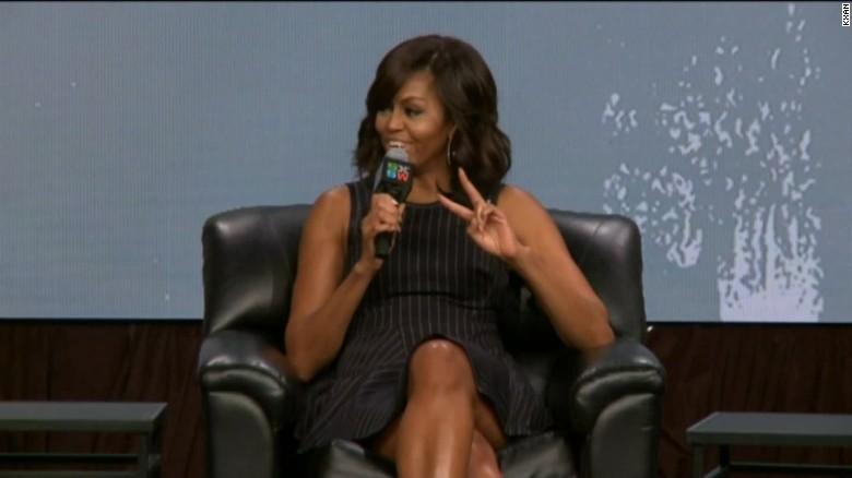 Michelle Obama: I will not run for president