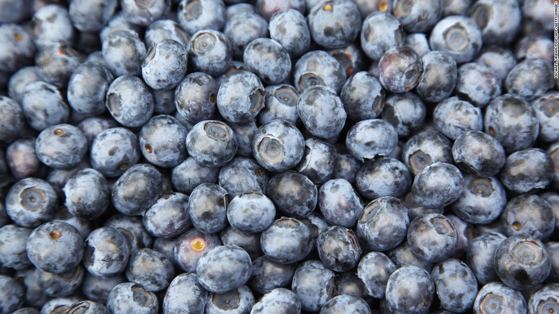 Hailed as a superfood, blueberries are packed with antioxidants and phytoflavinoids, and are also high in potassium and vitamin C.