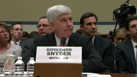 Congressman slams governor over Flint water crisis