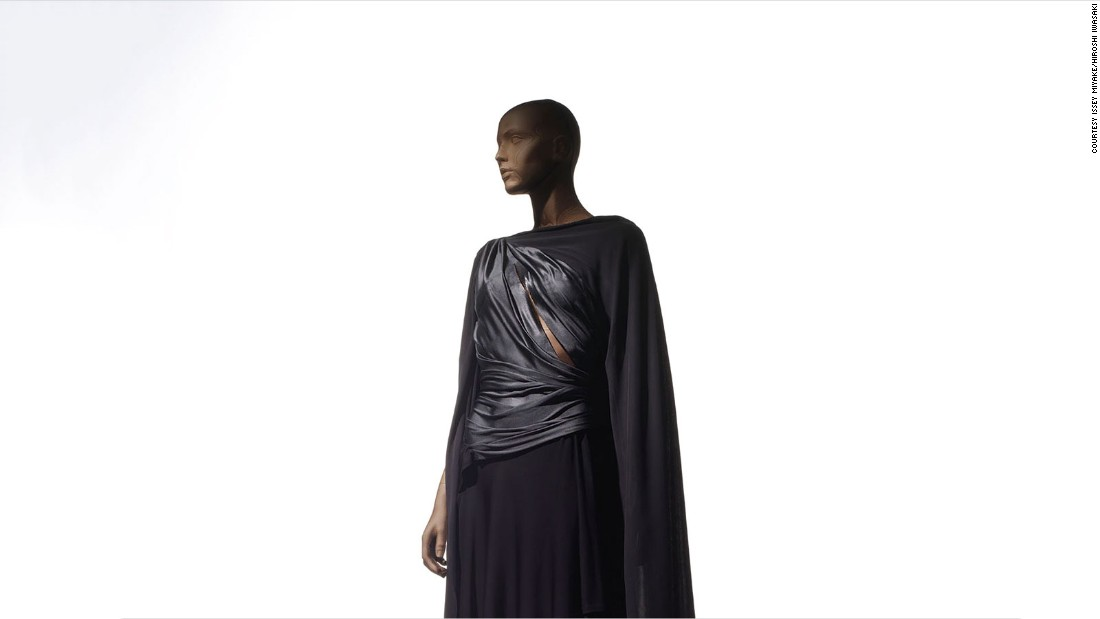 "Issey Miyake has long used a ""one piece of cloth"" premise, where clothes are crafted from a single roll of textile, as the basis for his design."