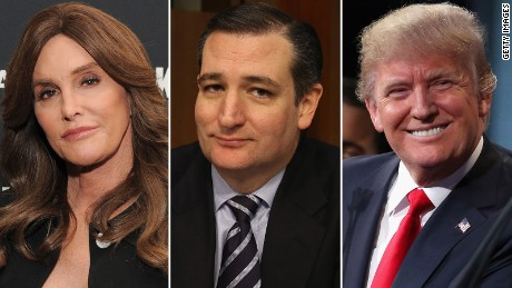 Jenner, Cruz, Trump and the transgender bathroom debate