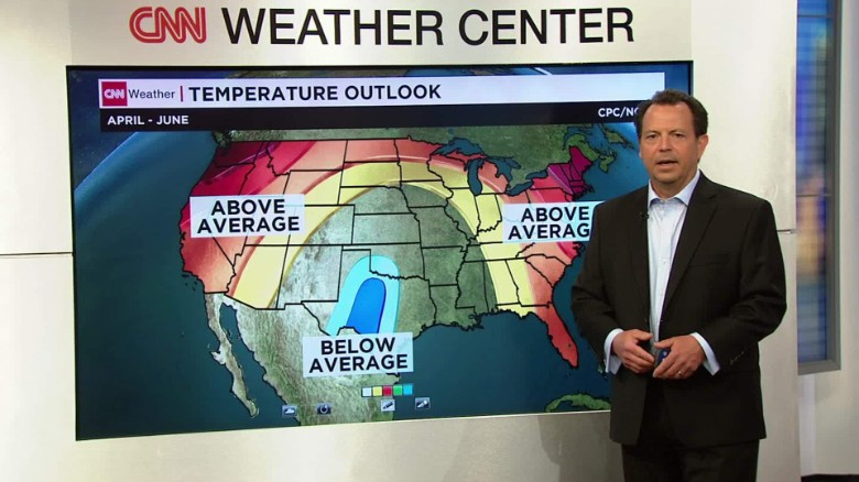 U.S. spring outlook calls for continued flood threat