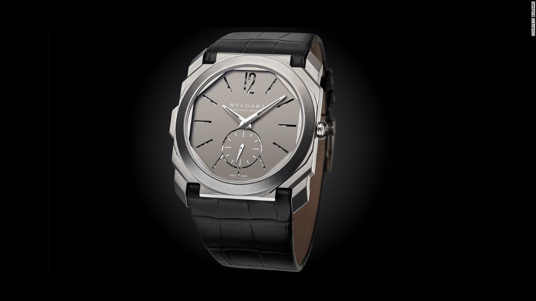 While records in watchmaking are increasingly elusive, and generally transient, this is, as far as we can tell, the thinnest minute repeater anyone has ever made. It's definitely one of the highlights of the year,