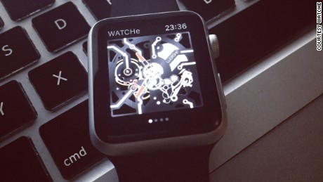 WatchE's application for the Apple Watch