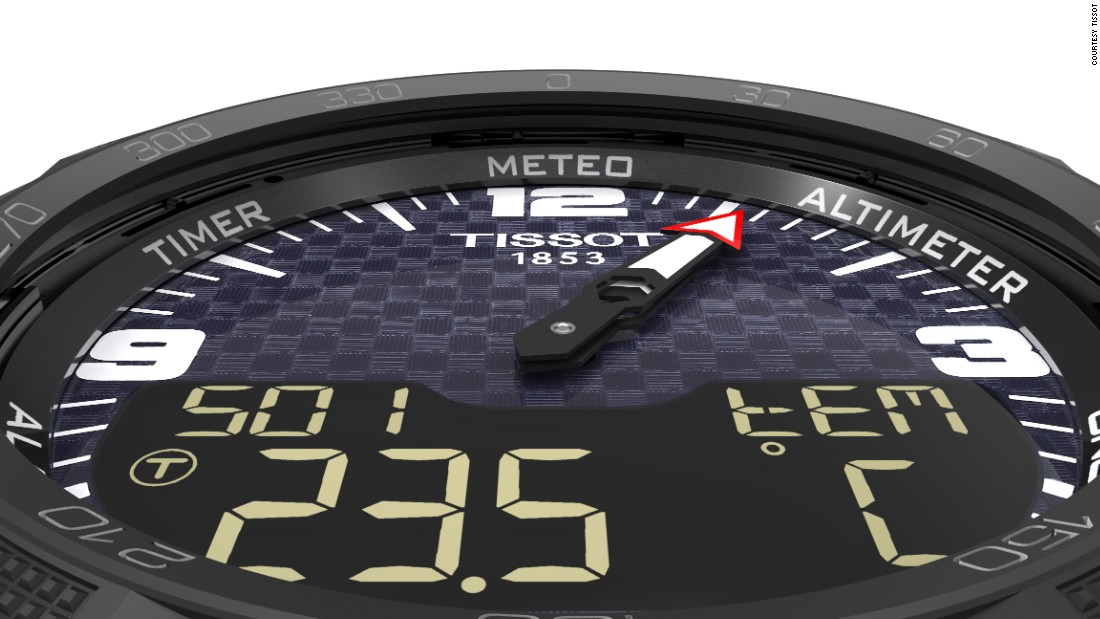 Tissot's is arguably the biggest smartwatch launch of Baselworld 2016. Solar-powered, it builds on the brand's ground-breaking T-Touch tactile dial technology. This is the first of three planned smartwatch launches by the brand this year.