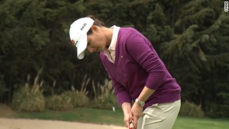 Video from the Vive el Golf con Lorena Ochoa march show.