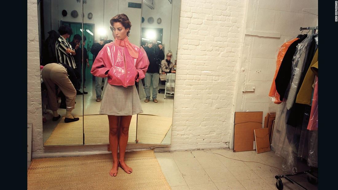 Christy Turlington by Nick Waplington, <em>The Isaac Mizrahi Pictures</em>