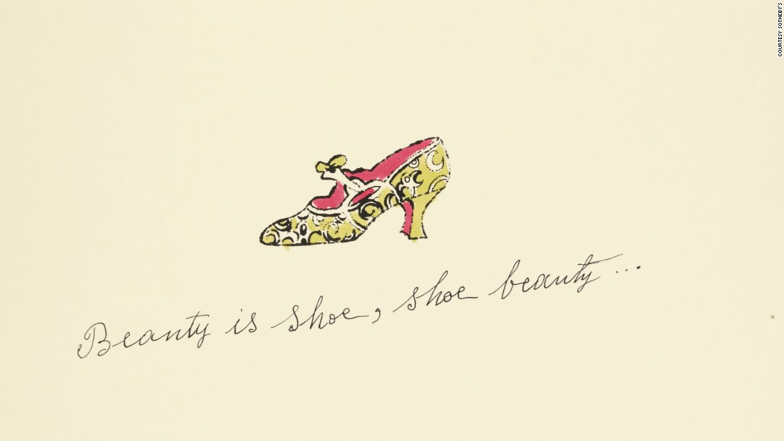 <em>Beauty is shoe, shoe beauty...</em>