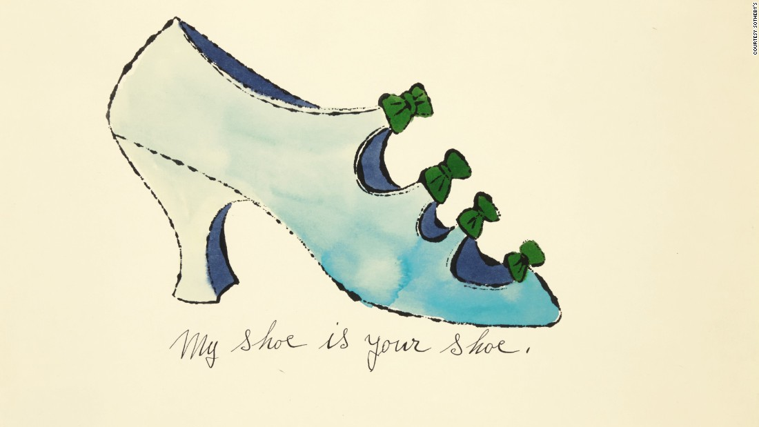 <em>My shoe is your shoe</em>