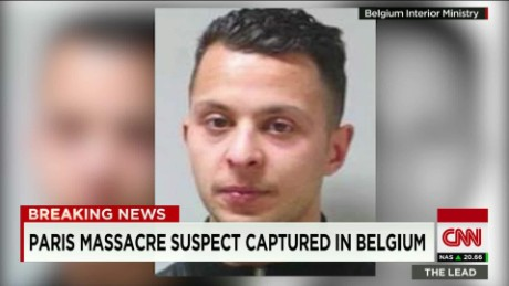 salah abdeslam on the ground belgium raids elbagir lead_00005003