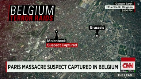salah abdeslam on the ground belgium raids elbagir lead_00000202
