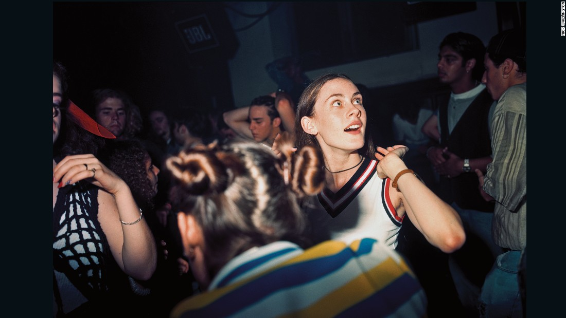 Girl in a club in New York by Nick Waplington, <em>The Isaac Mizrahi Pictures</em>