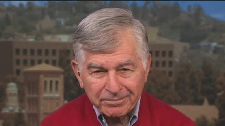 Michael Dukakis on Donald Trump: 'I think he's nuts'