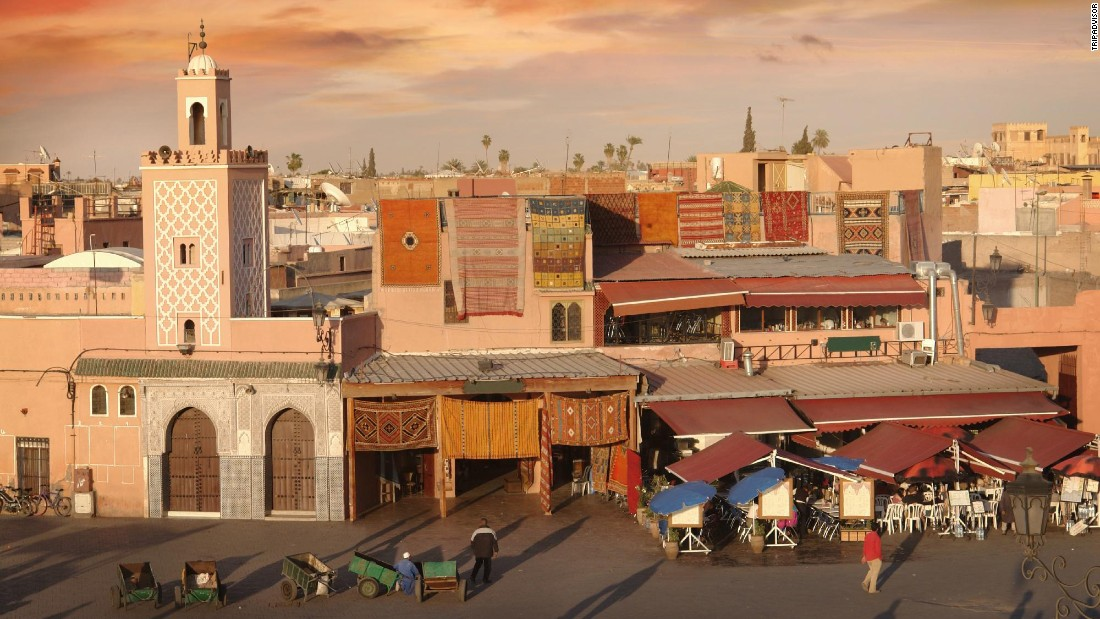 Marrakech, which topped the list in 2015, dropped to third place this year, according to TripAdvisor's analysis of millions of user reviews.