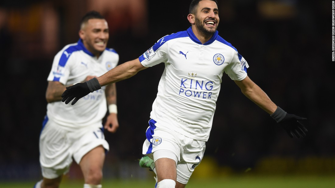 The Algerian is tipped to win Player of the Year for an extraordinary season in which he has been involved in more goals than anyone else, driving unfashionable Leicester City to the brink of a first league title in their 132-year history.