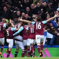 West Ham United celebration