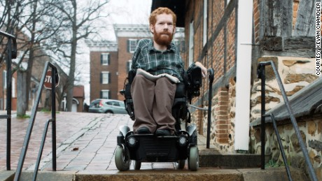 Kevan Chandler will bring his wheelchair for use on parts of his trip.
