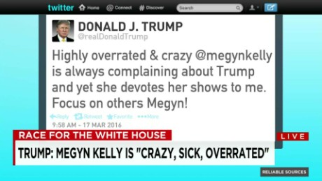 Fox responds to Trump calling Kelly 'crazy' _00005223