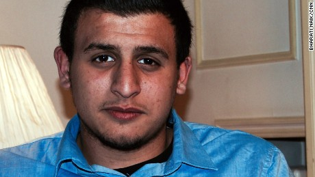 Student Yassine Boubout says he was arrested at gunpoint simply because he looked like someone else