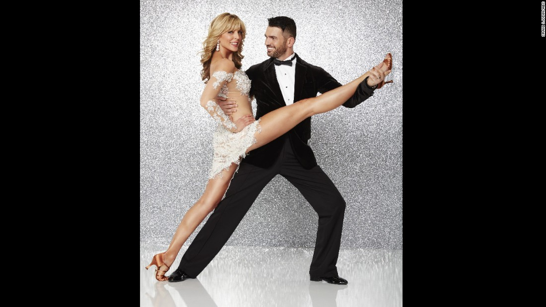 Marla Maples, an ex-wife of Republican presidential hopeful Donald Trump's, was paired with pro dancer Tony Dovolani. Maples married Trump in 1993 and divorced him in 1999. They have one daughter, Tiffany. Maples and Dovolani were eliminated in week 4.