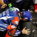 MotoGP: Lorenzo kisses tire Qatar