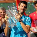 Djokovic Indian Wells trophy