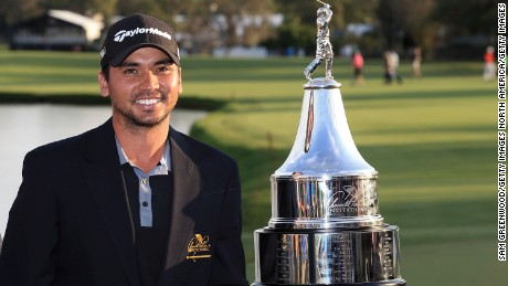 "World No. 2 Jason Day says he has ""idolized"" Tiger Woods ""since he was a kid."""