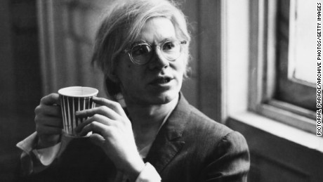 Andy Warhol pictured in 1971.