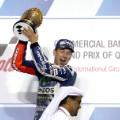 MotoGP: Lorenzo lifts trophy in Qatar
