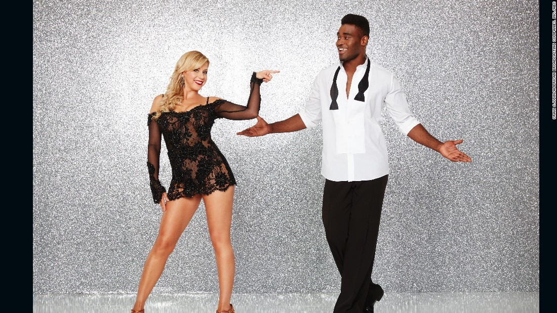 "Actress Jodie Sweetin, a veteran of ""Full House"" and co-star of ""Fuller House,"" was the first celebrity competitor announced for the current season. She was paired with pro dancer Keo Motsepe. They were eliminated in week 8."