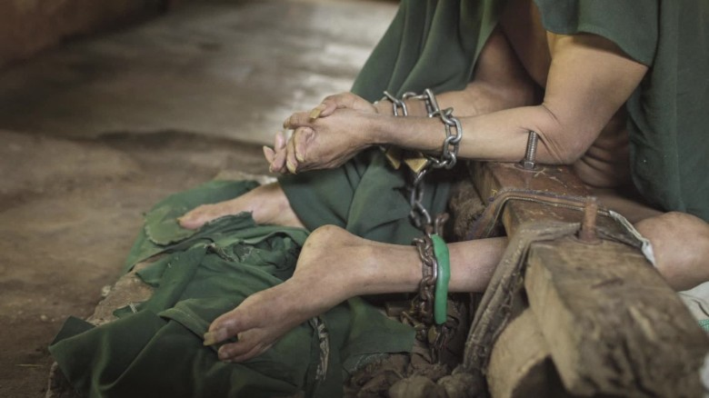Many of Indonesia's mentally ill are living in chains