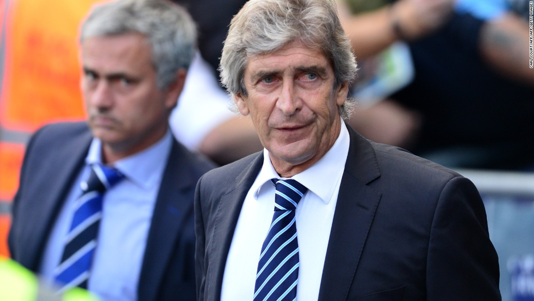 "Manchester City manager was called ""Mr Pelligrino"" during a Mourinho press conference -- a joke he has wheeled out on more than one occasion."