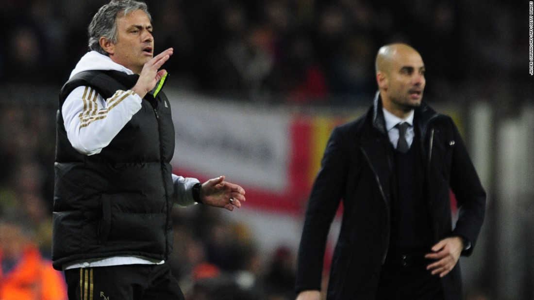 """When you enjoy what you do, you don't lose your hair -- and Pep Guardiola is bald,"" Jose Mourinho <a href=""http://babb.telegraph.co.uk/2014/09/mourinho-reportedly-claims-guardiola-is-bald-because-he-doesnt-like-football/"" target=""_blank"">said in September 2014</a>. ""He doesn't enjoy football."""