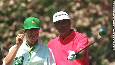 Foster worked with Seve Ballesteros at five Masters from 1991-1995.