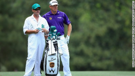 Lee Westwood and caddie Billy Foster have come second and tied third at the Masters at Augusta.