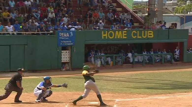 Legendary Cuban baseball is struggling