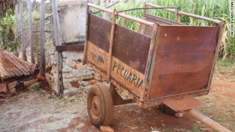 The 150 employees of the Vivero Alamar farm make do with their antiquated equipment.