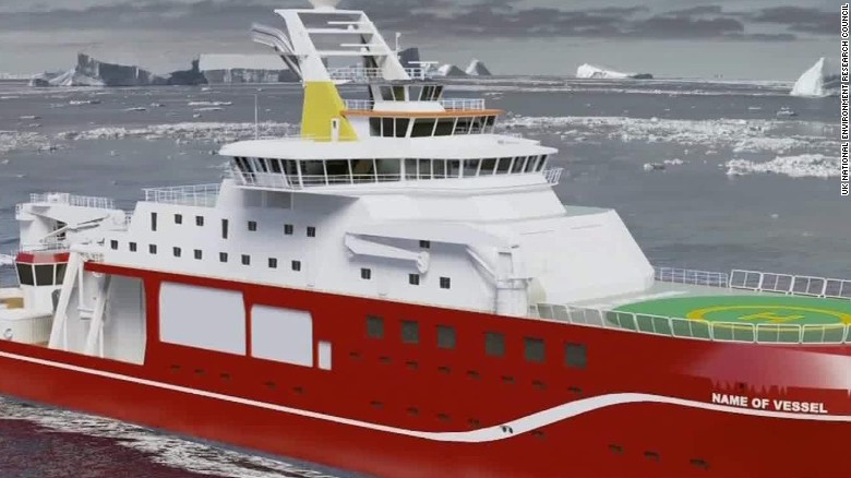 'Boaty McBoatface' leads vote to name ship