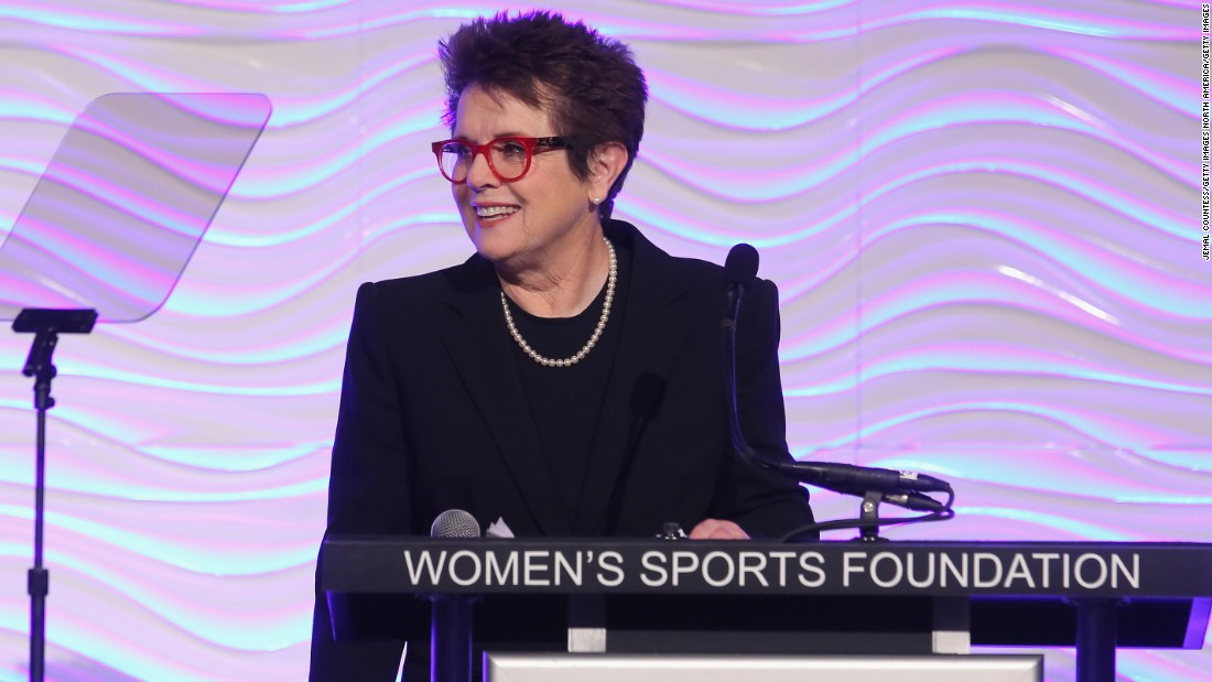 "Billie Jean King, founder of the WTA and a tireless advocate for equal rights, was another who criticized Moore. ""Disappointed in  Raymond Moore comments,"" the 12-time grand slam singles champion tweeted. ""He is wrong on so many levels."""